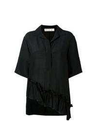 Camisa de manga corta negra de Marni