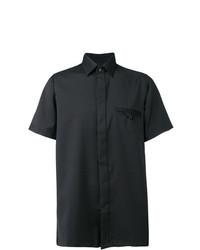Camisa de manga corta negra de Matthew Miller