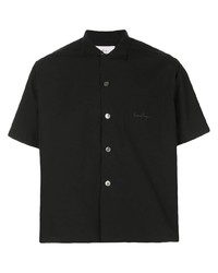 Camisa de manga corta negra de Second/Layer