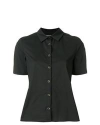 Camisa de manga corta negra de Twin-Set