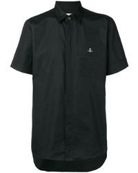 Camisa de manga corta negra de Vivienne Westwood