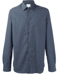 Camisa de Manga Larga a Lunares Azul de Paul Smith