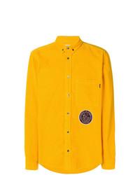Camisa de manga larga amarilla de MSGM