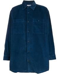 Camisa de manga larga azul marino de Acne Studios