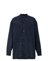 Camisa de manga larga azul marino de E. Tautz