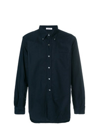 Camisa de manga larga azul marino de Engineered Garments