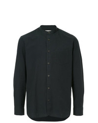 Camisa de manga larga azul marino de Kent & Curwen