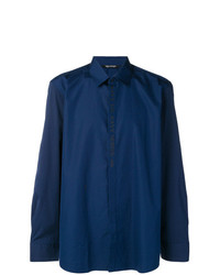 Camisa de manga larga azul marino de Neil Barrett