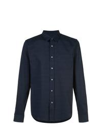 Camisa de manga larga azul marino de Odin