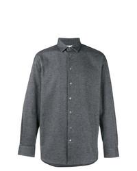 Camisa de manga larga azul marino de Stephan Schneider
