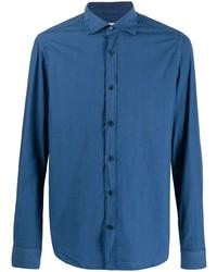 Camisa de manga larga azul de Al Duca D'Aosta 1902