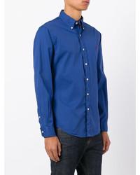 Camisa de Manga Larga Azul de Polo Ralph Lauren