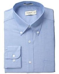 Camisa de Manga Larga Azul de Haggar