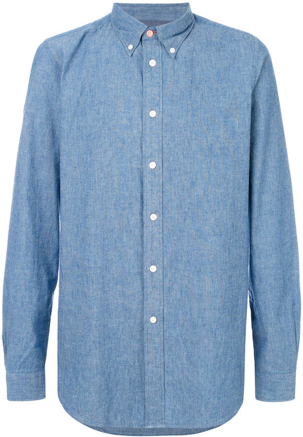 Camisa de Manga Larga Azul de Paul Smith