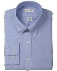 Camisa de Manga Larga Azul de Van Heusen