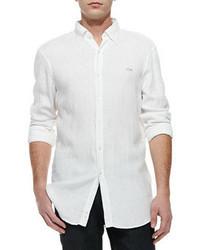 Camisa de Manga Larga Blanca