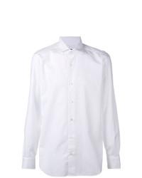 Camisa de Manga Larga Blanca de Barba