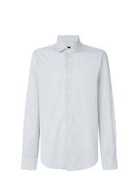 Camisa de manga larga blanca de Dell'oglio