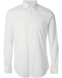 Camisa de Manga Larga Blanca de Diesel