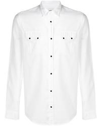 Camisa de manga larga blanca de Dondup