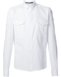 Camisa de Manga Larga Blanca de Haider Ackermann