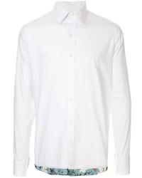 Camisa de manga larga blanca de Kolor
