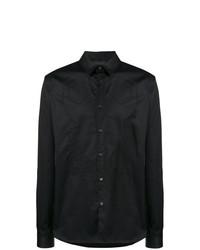 Camisa de manga larga bordada negra de Diesel Black Gold