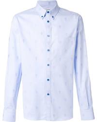 Camisa de Manga Larga Celeste de Alexander McQueen