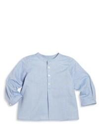 Camisa de Manga Larga Celeste de Bonpoint