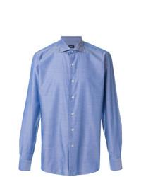 Camisa de manga larga celeste de Borriello