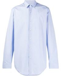 Camisa de manga larga celeste de BOSS HUGO BOSS
