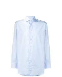 Camisa de Manga Larga Celeste de Brioni