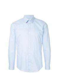 Camisa de Manga Larga Celeste de Cerruti 1881