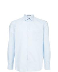 Camisa de manga larga celeste de D'urban