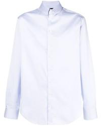 Camisa de manga larga celeste de Giorgio Armani