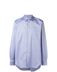 Camisa de manga larga celeste de Junya Watanabe MAN