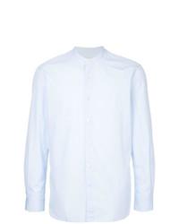 Camisa de manga larga celeste de Kent & Curwen