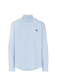 Camisa de manga larga celeste de Kenzo