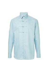 Camisa de manga larga celeste de Kolor
