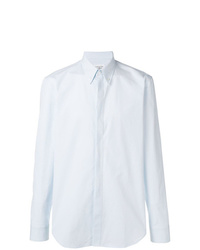 Camisa de manga larga celeste de Maison Margiela