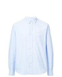 Camisa de manga larga celeste de Officine Generale