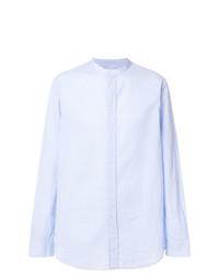 Camisa de manga larga celeste de Paolo Pecora
