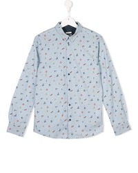 Camisa de Manga Larga Celeste de Paul Smith