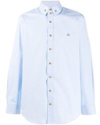 Camisa de manga larga celeste de Vivienne Westwood