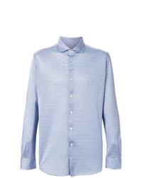 Camisa de manga larga celeste de Xacus