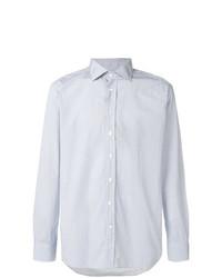 Camisa de Manga Larga con estampado geométrico Celeste de Etro