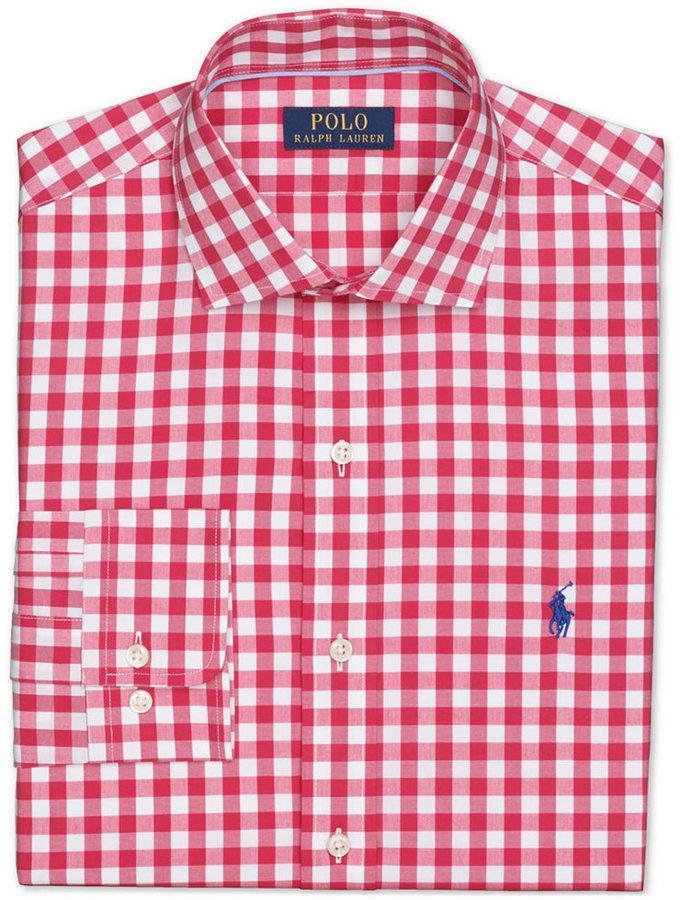 3bb074bc6 ... lauren gusta 64e5a 1b8a9 coupon for camisa de manga larga de cuadro  vichy en rojo y blanco de polo ralph ...