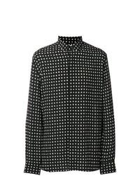 d4d4263d7c571 Comprar una camisa de manga larga de estrellas negra  elegir camisas ...