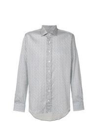 Camisa de manga larga de paisley en multicolor