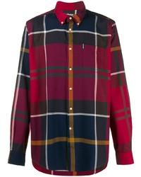 Camisa de manga larga de tartán en multicolor de Barbour